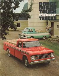 100 67 Dodge Truck Chrysler 19 Pickup Sales Brochure