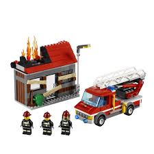 LEGO® Toys - LEGO® City Fire Emergency At ToyStop Lego City Fire Truck Free Transparent To The Rescue Level 1 Lego Itructions 60110 Station Book 3 60002 Sealed Misb Toys Games On Carousell Brigade Kids Amazoncom Scholastic Reader Ladder 60107 Engine Burning 60004 7239 Bricks Figurines City Airport With Two Minifigures And