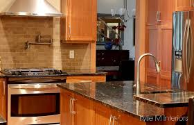 Kitchen Paint Colors With Light Cherry Cabinets by What Color Floor With Cherry Cabinets White Quartz Countertops