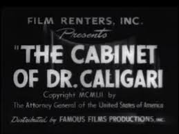 the cabinet of dr caligari 1920 silent movie horror youtube