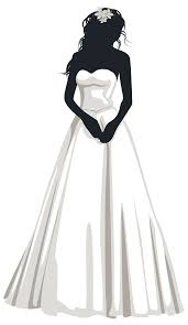 Bride Silhouette PNG Clip Art
