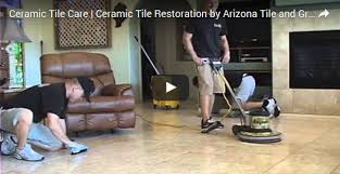 ceramic tile care grout sealing process az tile grout care