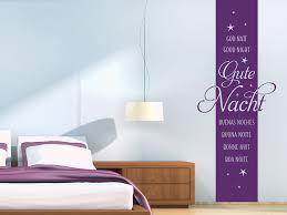 wandtattoo banner gute nacht mit sternen