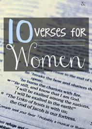 10 Verses For Women All Occasions LetgoletGod Faith
