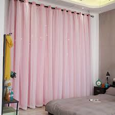 2019 Ivolador Castle Pattern Curtains Polyester Blackout Curtain
