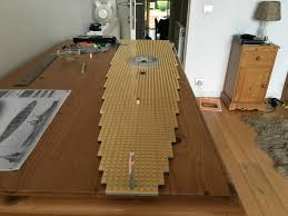 Lego Ship Sinking 2 by Lego Hms Conqueror 2m Day 2 Building The Deck And Barbettes
