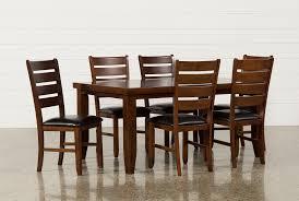 100 Birch Dining Chairs Bradford 7 Piece Set WBardstown Side Living Spaces