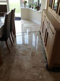 Burnishing Floors After Waxing by Travertine Posts Stone Cleaning And Polishing Tips For