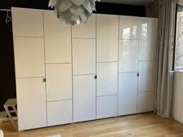 kleiderschrank weiß hochglanz schlafzimmer möbel gebraucht