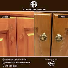 Kitchen Cabinet Door Repair Maintenance Finish Peeling Touch up