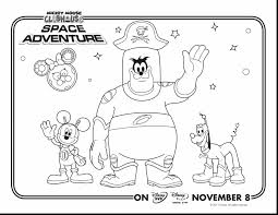 Extraordinary Pete Mickey Mouse Clubhouse Coloring Pages With And