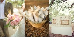 hand carved wooden stump place cards burlap table runners