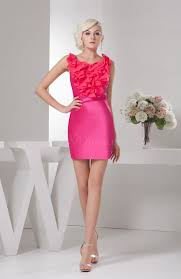 pink short party dress inexpensive dream natural tight mini