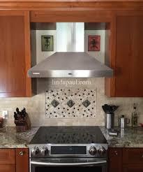 Metal Adhesive Backsplash Tiles by Kitchen Backsplashes Finished Peel And Stick Wall Tiles Kitchen