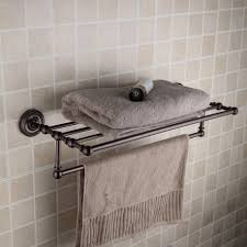 Bathroom: Cool Dark Train Rack Style Towel Shelf With Holder ... Bathroom Shelving Units Shower Rack Walmart Pottery With Barn Canfield Hdware Rejuvenation Tile Tips For A Better Train Chrome Luggage Towel Railway Shelf With Bar Au Pottery Barn Train Rack Ideas Pinterest 2perfection Decor Ensuite Reno Reveal Taymor 02d1047corb Paris Hotel Or Style Extraordinary Otographs Mirror New Vintage Ashland Fixture Ebay Wall Mounted Wine Glass Your Bath Hotelstyle