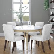Skyline Furniture Custom Dining Chair In Microsuede Custom Ding Chairs Ervelabco Custom Ding Chair C1615 This Vintage Set Has A White Wash Thrghout And Hollywood Table Chairs Mortise Tenon Room Set With Fniture Home T30 Vintage Oak Enjoyable Design Covers Saloom Model 108 Upholstered Natural Straw Upholstery Best Decor With Fantastic Canadel Brings Richness Accent To Your Beneficial Gourmet Customizable Rectangular Leg