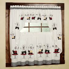 Fat Chef Bistro Kitchen Curtains by Tag For Fat Chef Kitchen Clocks Nanilumi