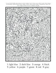 Amazing Hello Kitty Color By Number Kids Coloring Pages For Adults Animals Frozen Printable Free Colori