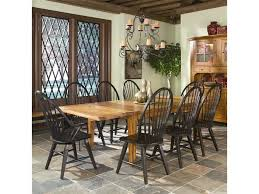 Dining Room Chairs With Arms Fresh Intercon Rustic Traditions Table W 4 Tapered Legs And