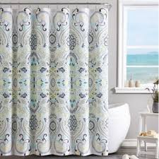 buy yellow fabric shower curtain from bed bath beyond