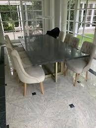 details zu hochwertiger esstisch mit 8 stühlen top zustand