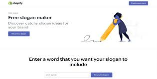 Enter One Or More Keywords And The Shopify Slogan Maker Will Provide You With As Many 1000 Cool Slogans From Which To Choose Is Hands Down