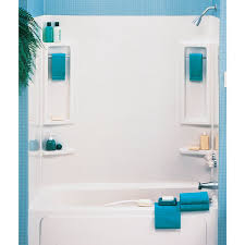 54 X 27 Bathtub With Surround by Shower And Tub Modules Walmart Com