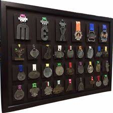 33 Medal Display Frame Marathon Half Ironman Triathlon Sports