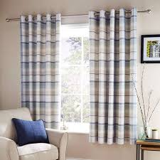 Smooth Curtain Fabric Crossword by Dunelm Blue Check Curtains Best Curtain 2017