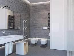 tez marble alaska gray stacked veneers bathroom brick tile