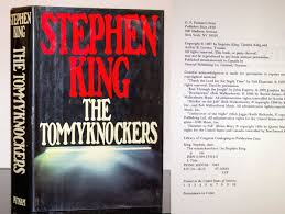 100 Trucks Stephen King The Tommyknockers By First Edition 1st Printing Red