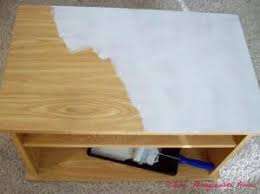 Upcycling and painting laminate furniture