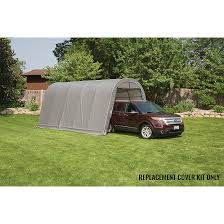 Arrow Floor Frame Kit by Replacement Cover Kit For The Garage In A Box Round 12 X 20 X 10 Ft