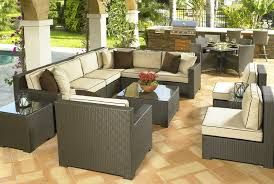 Rattan Outdoor Living Room Set