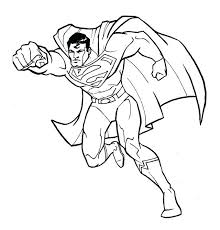 Superman Coloring Pages Pdf Fantastic Page Cartoon