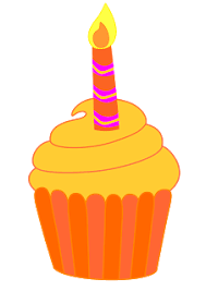 The following birthday cupcake graphics are in format and will size to A3 on the images and link text cupcakes without candles to open the