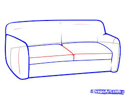 How To Draw Furniture Step 5