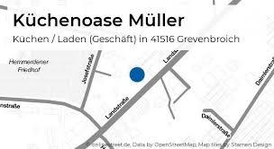 küchenoase müller landstraße in grevenbroich hemmerden