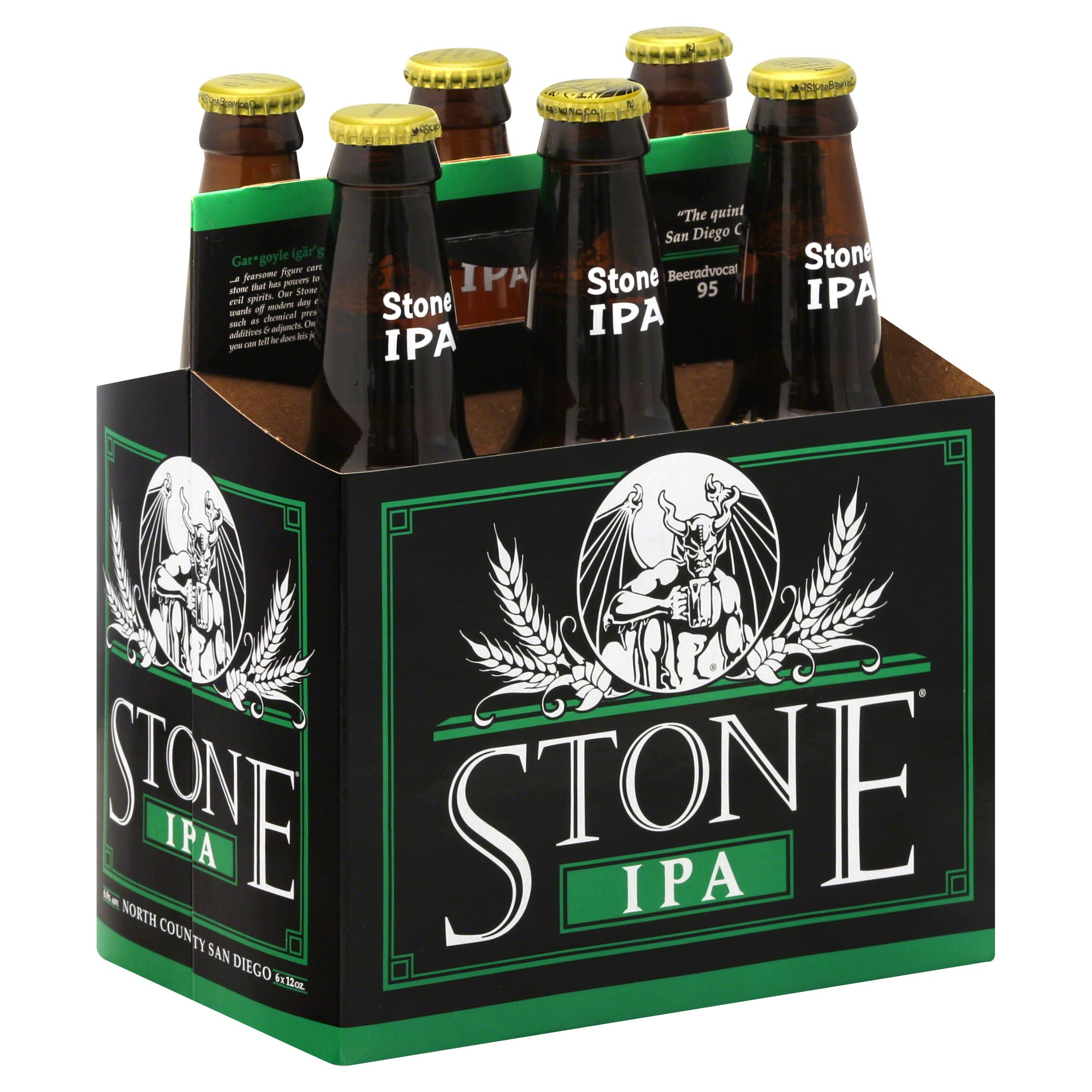 Stone Ipa India Pale Ale - x6