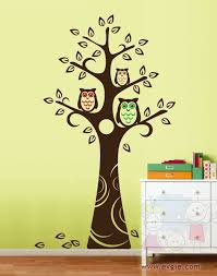 Owl Bedroom Wall Stickers by Owl Tree Wall Decal Roselawnlutheran