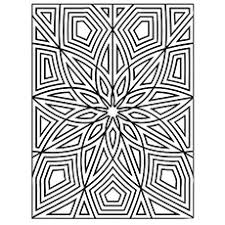 Intricate Flower Print Coloring Pages