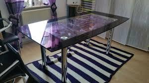 esszimmer glastisch deko caseconrad