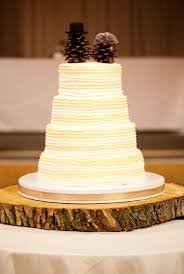Pine Cone Wedding Cake Toppers