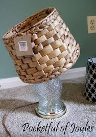 Uno Lamp Shade Adaptor by Making Over 2 Thrift Store Lamps Pocketful Of Joules