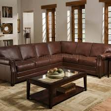 Brown Sectional Living Room Ideas by Furniture Add Luxury To Your Home With Full Grain Leather