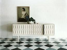 Black And White Linoleum Flooring Lino Floor Tile Pattern Tiles