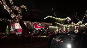 Clovis Christmas Tree Lane by Candy Cane Lane Drive Thru Christmas 2016 Youtube