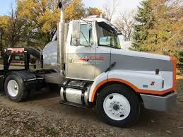 100 Poly Truck Fenders Lot 1990 White GMC Semi Tractor Day Cab Single Axle Custom Rear