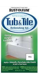 Homax Tub And Sink Refinishing Kit Instructions by Tub Reglazing Do It Yourself Diy Total Bathtub Refinishing Tub
