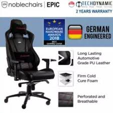 Noblechairs EPIC Series PU Leather Gaming Chair (Black) Noblechairs Epic Gaming Chair Black Npubla001 Artidea Gaming Chair Noblechairs Pu Best Gaming Chairs For Csgo In 2019 Approved By Pro Players Introduces Mercedesamg Petronas Licensed Epic Series A Every Pc Gamer Needs Icon Review Your Setup Finally Ascended From A Standard Office Chair To My New Noblechairs Motsport Edition The Most Epic Setup At Ifa Lg Magazine Fortnite 2018 The Best Play Blackwhite